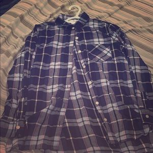 Purple and pink flannel from old navy